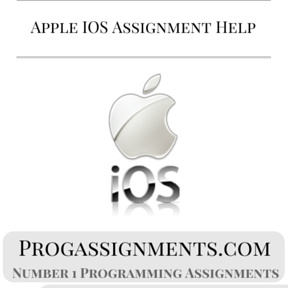 Apple IOS Assignment Help