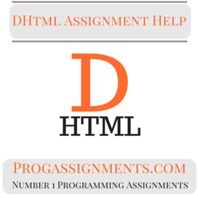 DHtml Assignment Help