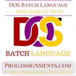DOS Batch Language