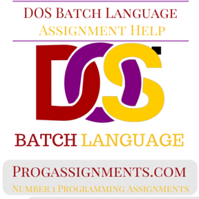 DOS Batch Language Assignment Help