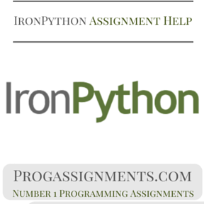 IronPython Assignment Help
