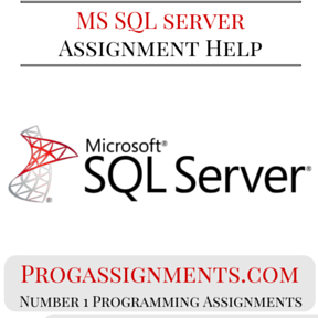 MS SQL Server Assignment Help