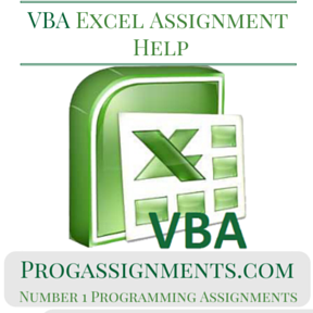 VBA Excel Assignment Help